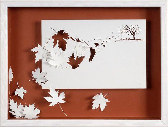 Gale - carta tagliata e scolpito - riproduzione fotografica su carta di arte