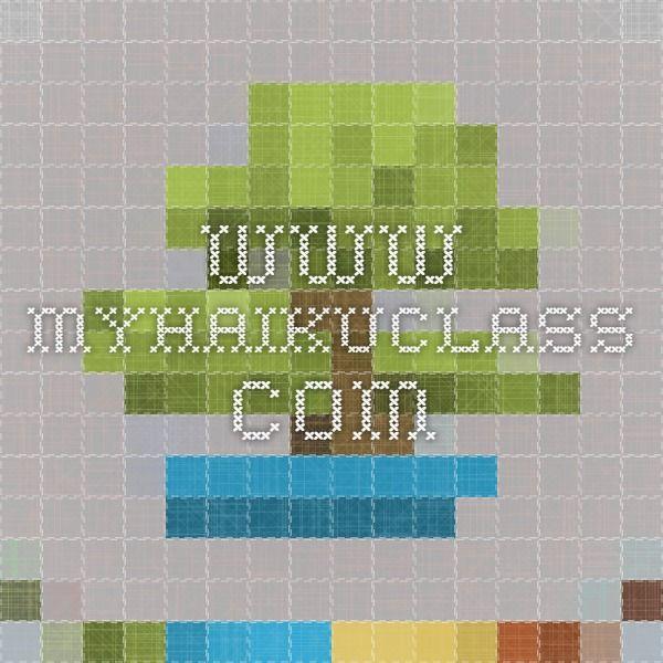 www myhaikuclass