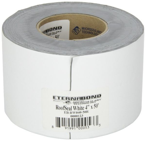 Eternabond Roof Tape on Amazon for sealing the trailer roof
