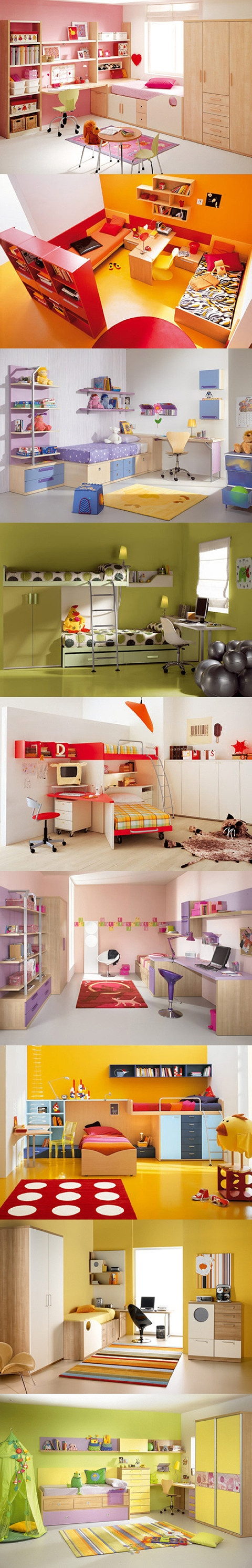 colorful - children's room