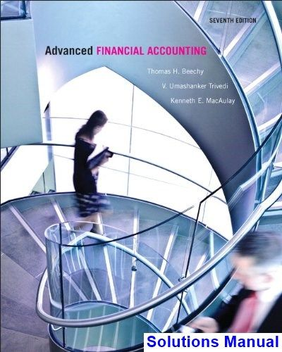 Best 25 financial accounting ideas on pinterest accounting advanced financial accounting canadian canadian 7th edition beechy solutions manual test bank solutions manual fandeluxe Image collections