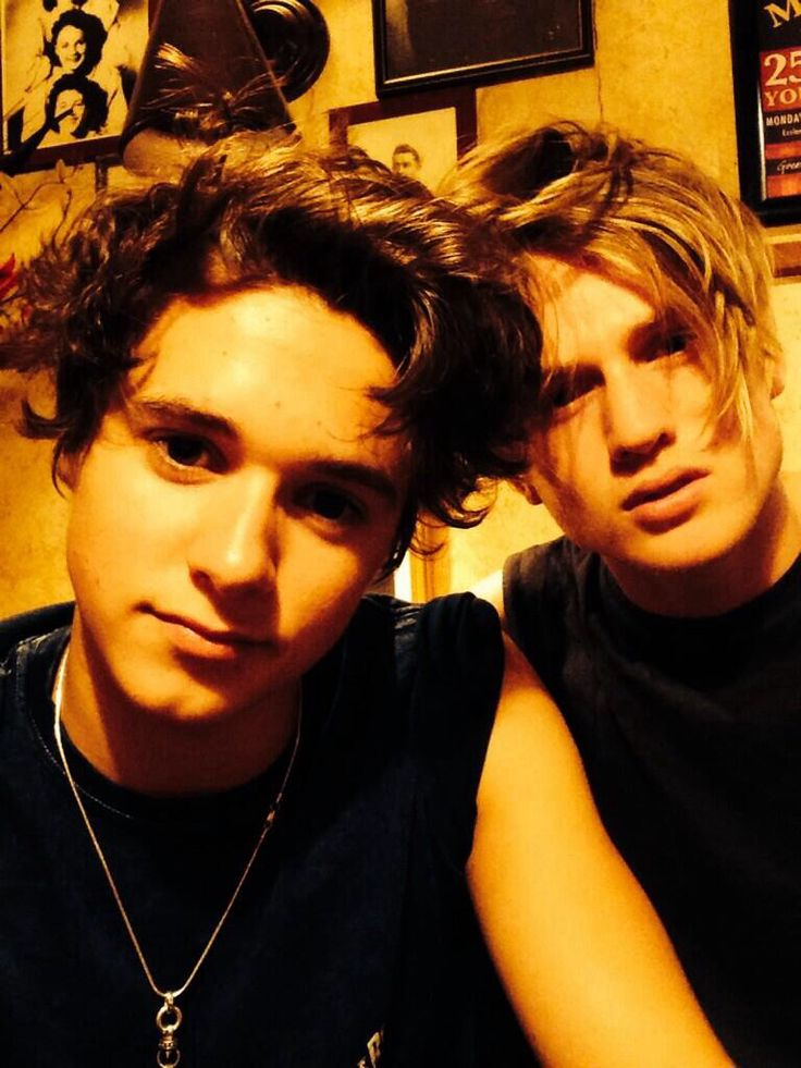 Looks like you guys just got out of bed?TRADLEY