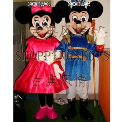 MICKEY MOUSE Mascot Costume Fancy Dress EVENING R00017 adult one size Cartoon