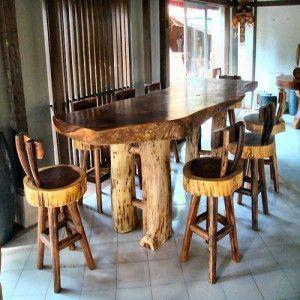53 best Rustic Burl Wood & Juniper Furniture Collection ...