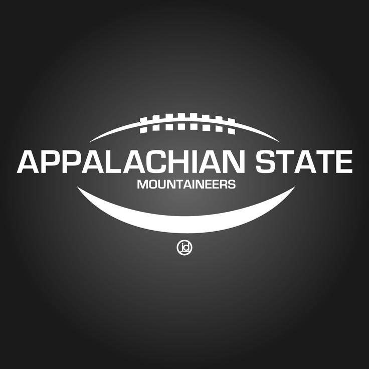 App State Football 25 best SPORTS POSTER