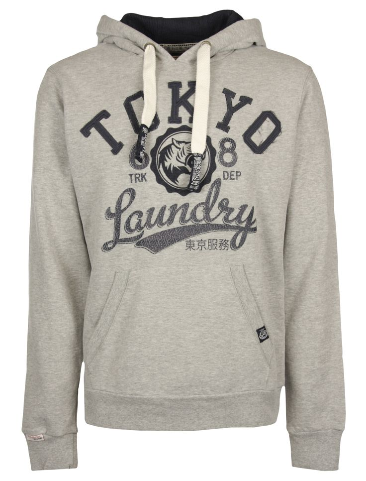 Tokyo Laundry 'Ralph' hoodie in a soft cotton rich fabric | Tokyo Laundry