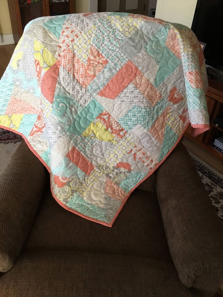 Pastel Quilt, Quilts for Sale, Handmade Quilts, Quilts Handmade, Homemade Quilts, Quilts Homemade, Baby Quilts, Quilts for Baby by NonnaQuilts on Etsy