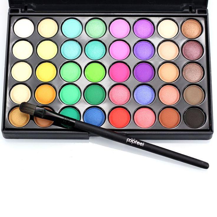 Lady 40 Colors Earth Matte Pigment Palette Eye shadow Makeup Eye Shadow for Women