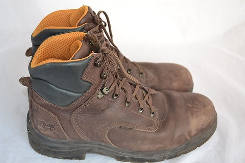 Timberland Pro Steel Toe Boots Work Safety Shoes Mens Size 13W | eBay