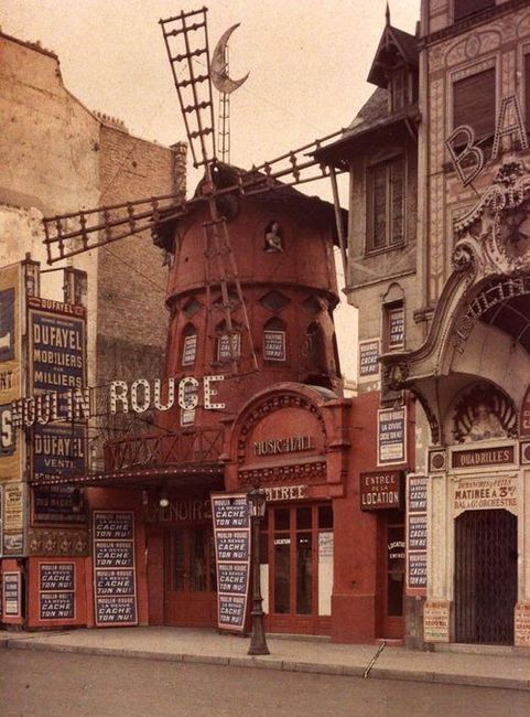 Moulin Rouge, Paris...visited in 2009..not nearly as cool as the movie