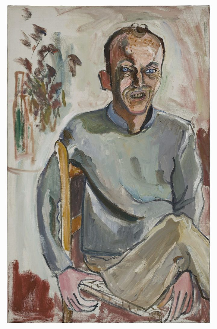 Alice Neel: Frank O'Hara, No. 2, 1960. Estate of Alice Neel. Kuva: Malcolm Varon, New York © Estate of Alice Neel