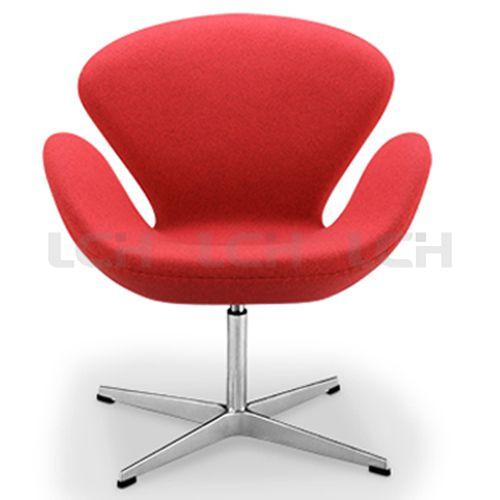 Arne Jacobsen Swan Chair LCCL051_LANCHOU Furniture