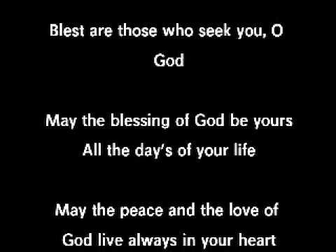 ▶ Wedding Psalm 128: Blest are those who love you - YouTube