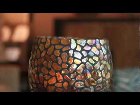 Aurora Candle Holders by PartyLite