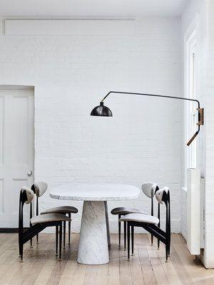 Project by Simone Haag in Brighton.   #uniquelamps #modernlighting #contemporarylighting #contemporaryhomedecor #interiordesign