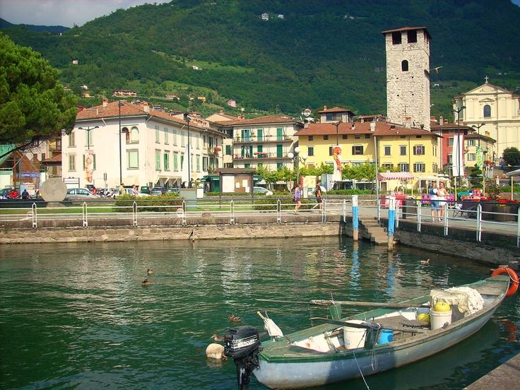 Lovere, Lago d'Iseo, Italia