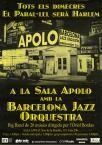 Barcelona Jazz Orquestra. Sala Apolo, Barcelona). Autor/s: Bordas, Oriol (Director d'orquestra)