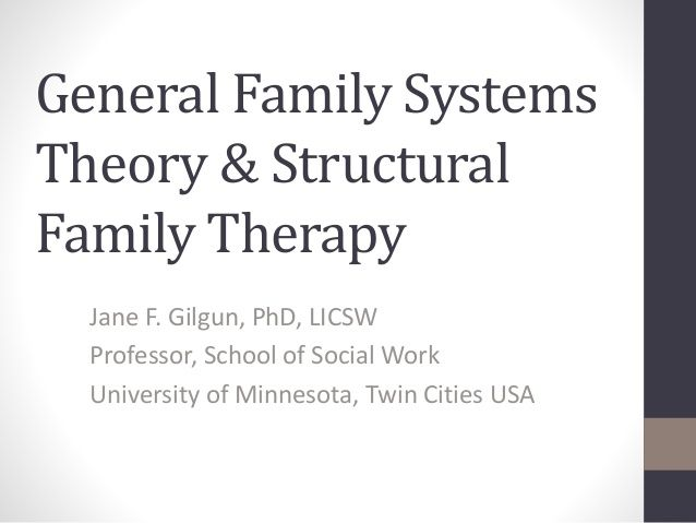 family system theory 2 essay Essay on family systems theory - the family structure is made up of the caregivers and support system the family systems theory offers a critical lens to.