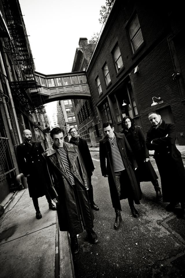 Rammstein- freaking love this band.