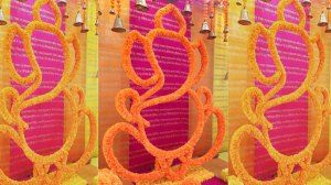 Magic with marigold | DIY decor ideas for the wedding house | using agenda on a budget | Curated By Witty Vows