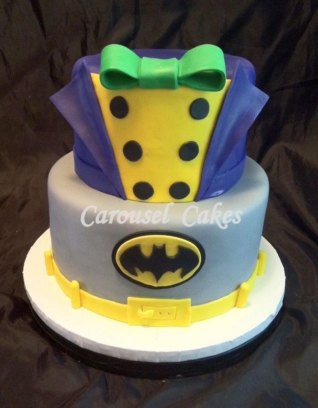 Batman and joker birthday party