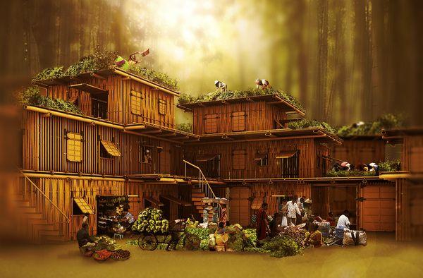 Grow Your Home! (competition winner) by Radim Tkadlec, via Behance