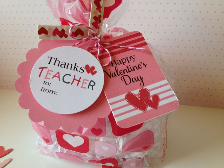 Valentine 39 s day teacher appreciation gift tags for gifts Gifts to show appreciation to friend
