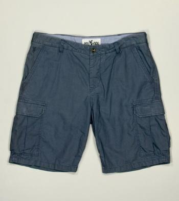 Short Cargo Pantalon de lino Pou Nou #pounou coleccion hombre primavera verano 2014 vestir mediterraneo menorca