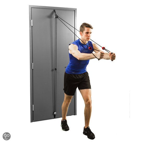 Gymstick Total Door Gym met work-out DVD