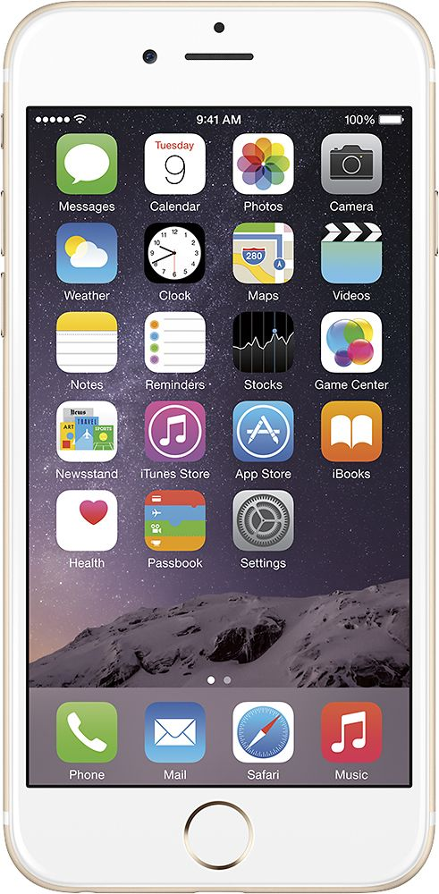 Apple - Refurbished iPhone 6 64GB - Gold (Verizon Wireless), MG652LL/A