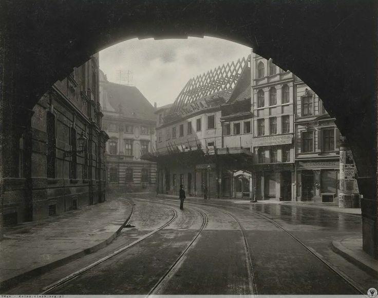 Plac Uniwersytecki we Wrocławiu. Rok 1901