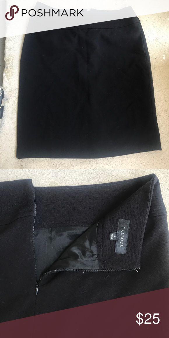 Black talbots career casual mid thigh skirt 4 Black talbots career casual mid thigh skirt 4 Talbots Skirts Mini