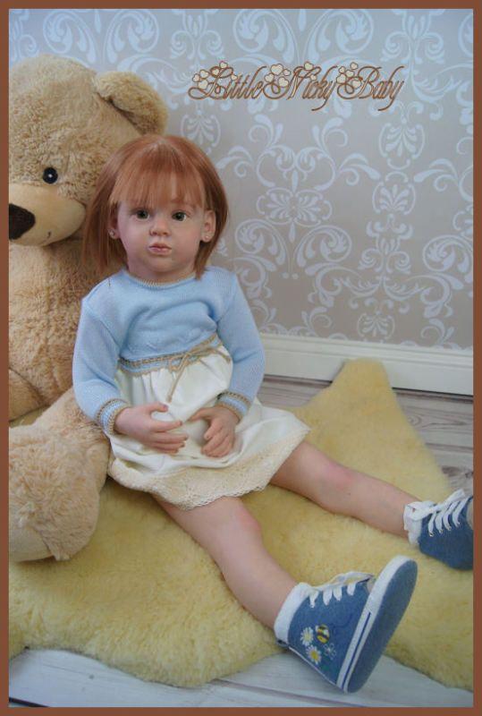 LNB~Reborn Toddler Girl~Emila  by Natali Blick, cute Girl