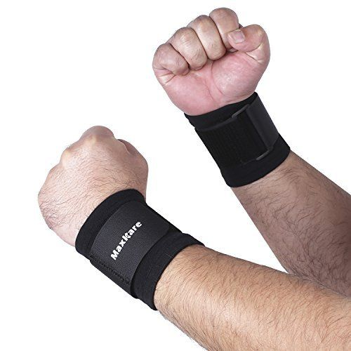 maxkare Sport Handgelenk Handgelenkbandage Wrap Bandage Unterst�tzung Band Gym Strap Sicherheit Sport Handgelenk Displayschutzfolie