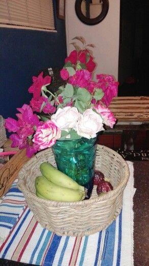 Depleting fruit basket