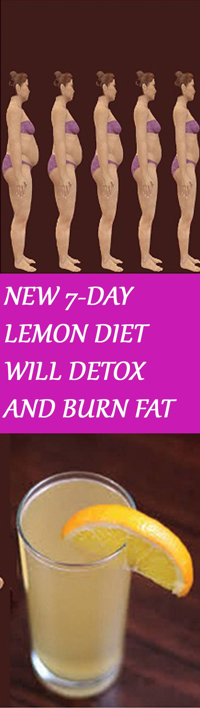 NEW 7-DAY LEMON DIET WILL DETOX AND BURN FAT Click the image for more instructions :D