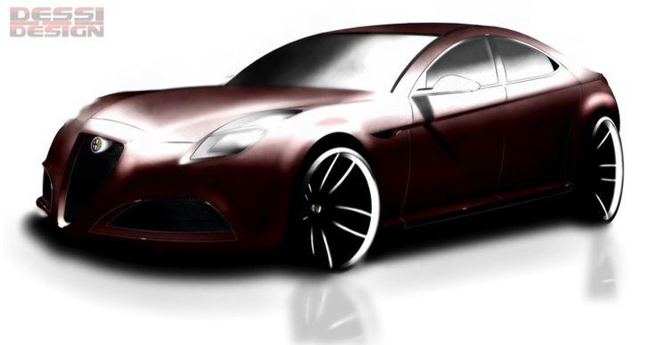 Disegni dei lettori: nuova Alfa Romeo Giulia, di Davide Dessi | Virtual Car
