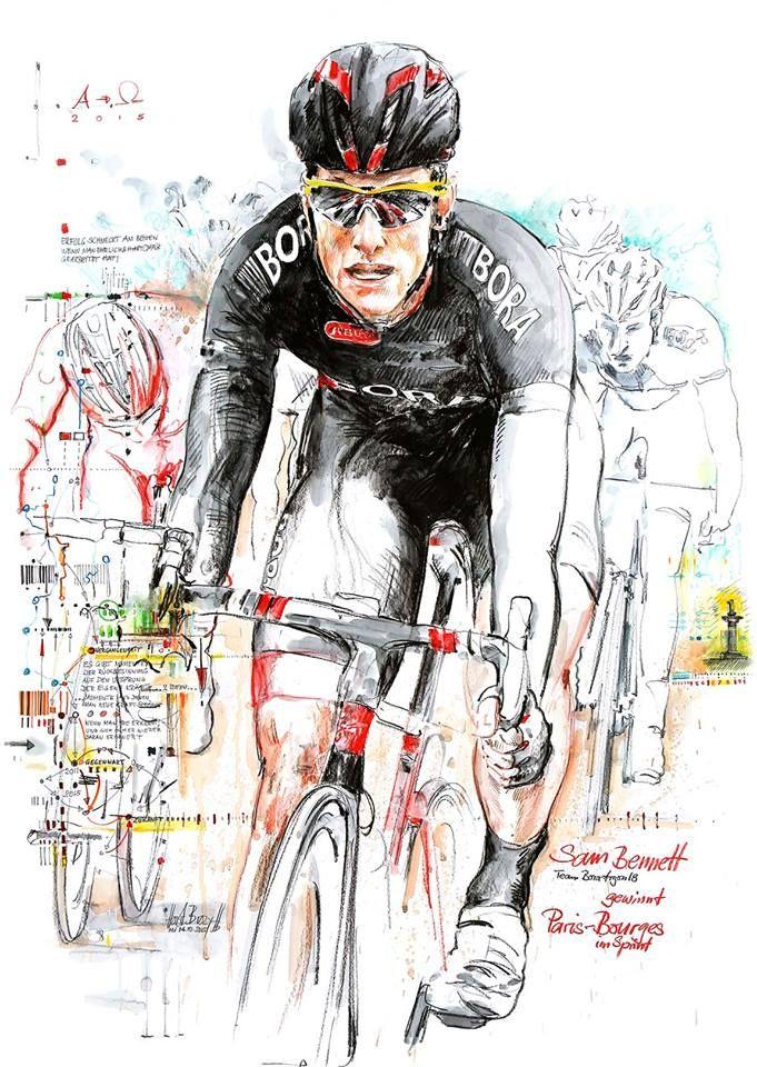 Sam Bennett, Team Bora-Argon 18, by Horst Brozy