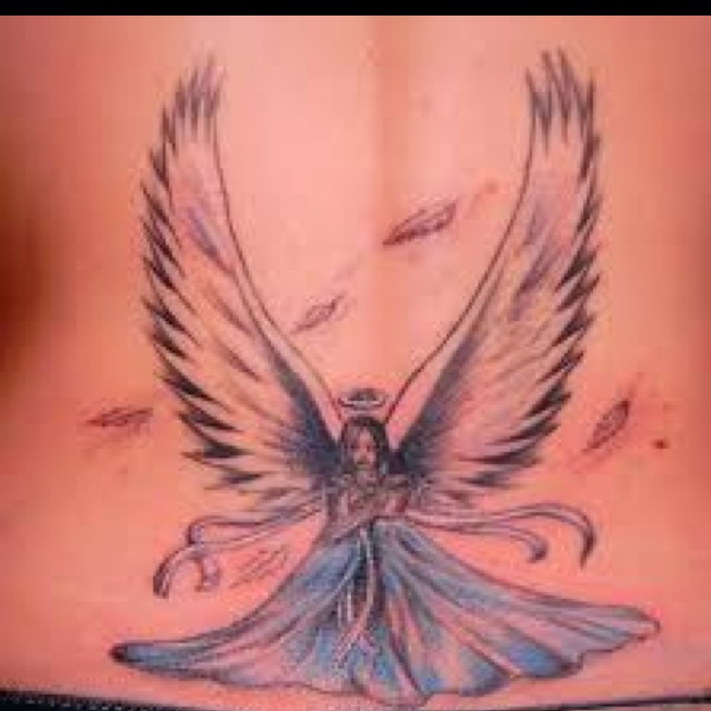 Guardian angel possibility 2. love the wings.