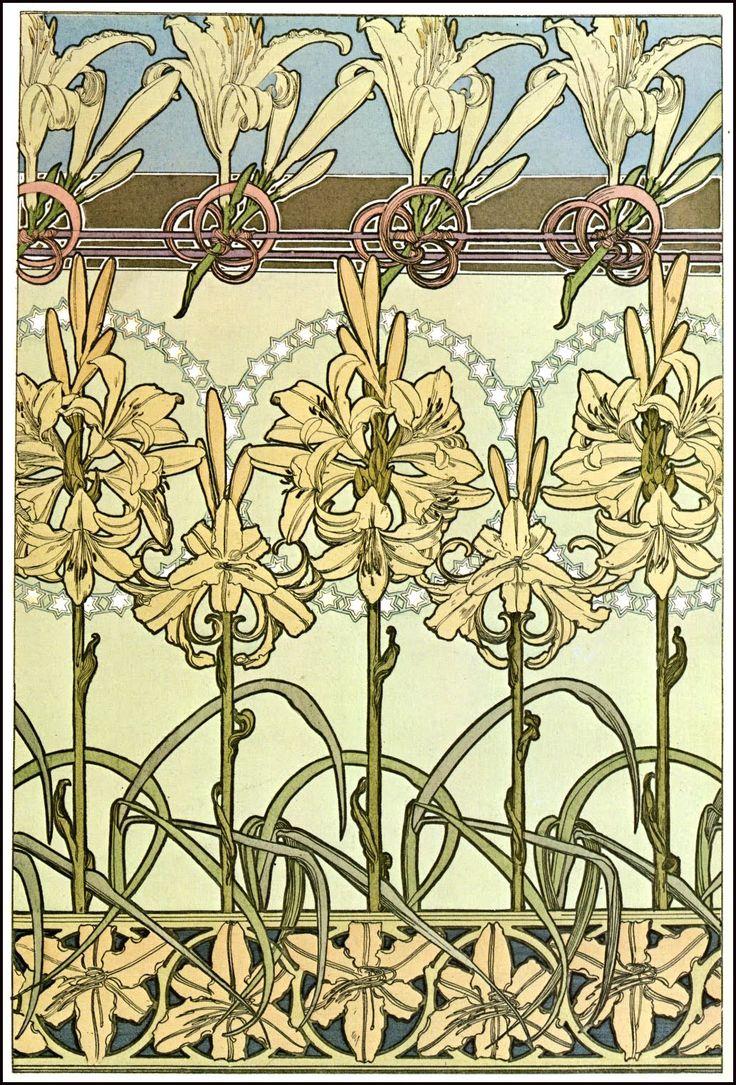 - 'Documents Decoratifs' (1901) by Alphonse Mucha. ...