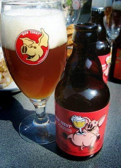 Den Tseut bier - Belgian Pig Beer from Eeklo
