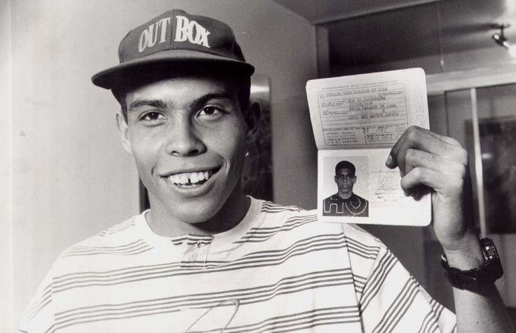 Young Ronaldo.