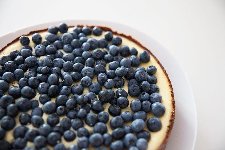 Lemon Ricotta Tart with Blueberries | sweet treats. | Pinterest