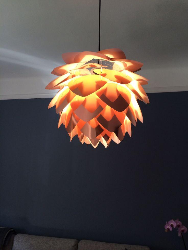 Vita Silvia Copper lamp. I love it!