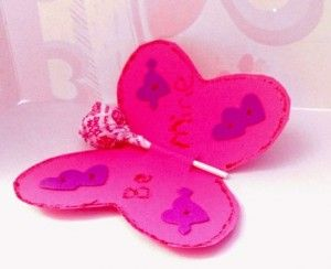 Valentines Day Butterfly Pop #valentinesday #crafts