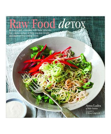 Look what I found on #zulily! Raw Food Detox Hardcover #zulilyfinds
