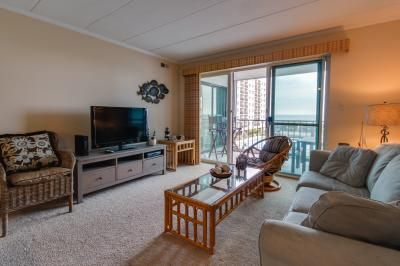 Your next vacation will be one in paradise at this comfortable condo in Ocean City. With ocean views, access to a shared pool and tennis courts, and nearby beach access with a central location, up to six guests will have an exceptional time here! Located one block from the beach in the heart of Maryland's summer playground, you'll have plenty to do within walking distance - restaurants, cafés, parks, golf, a movie theater, and more! The condo itself has a clean and welcoming atmosphe...