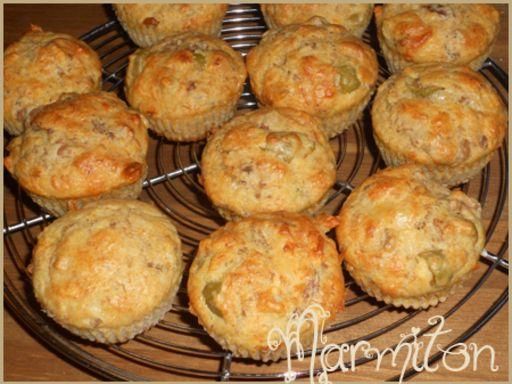 Recette de muffins au thon et aux olives