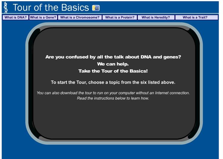 Learn Genetics Utah Tour Of The Basics