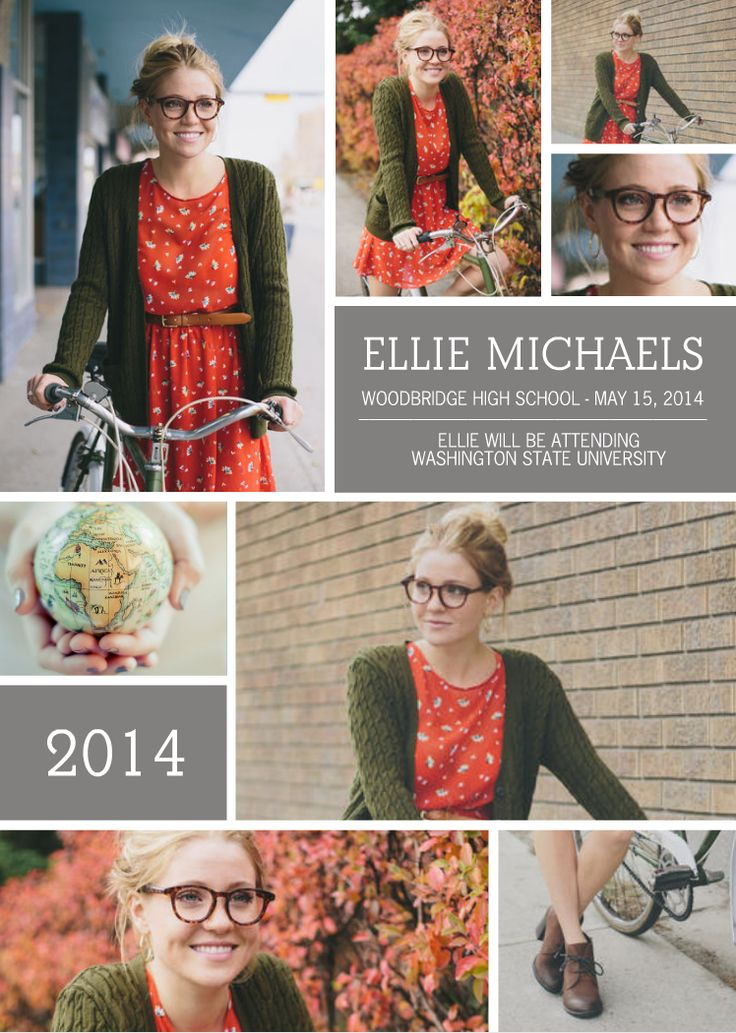New Custom Graduation Announcements